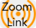 an image representing the zoom link for a meeting with the words zoom link